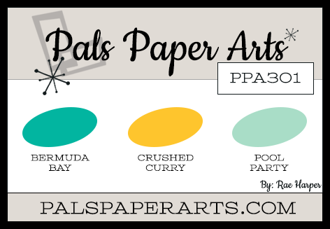 Pals Paper Arts Color Challenge PPA301