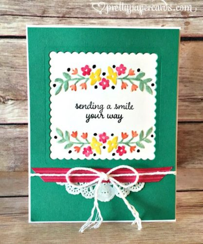 Pals Paper Crafting Card Ideas Affectionately Yours Mary Fish Stampin Pretty StampinUp