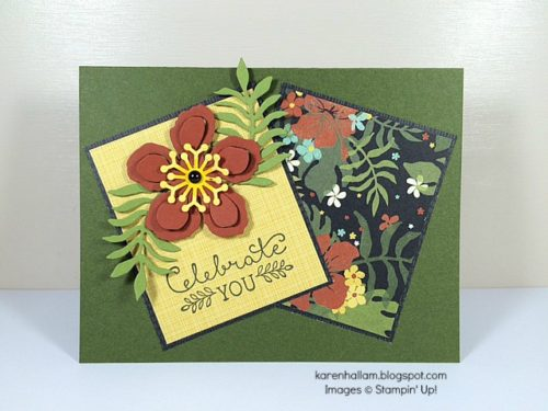 Pals Paper Crafting Card Ideas Botanicals Mary Fish Stampin Pretty StampinUp