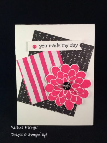Pals Paper Crafting Card Ideas Flower Patch Mary Fish Stampin Pretty StampinUp