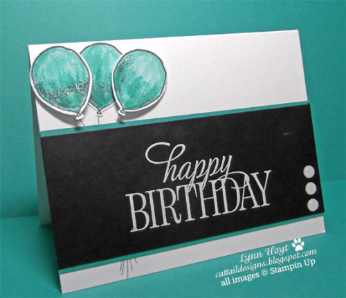 Pals Paper Crafting Card Ideas Happy Birthday Mary Fish Stampin Pretty StampinUp