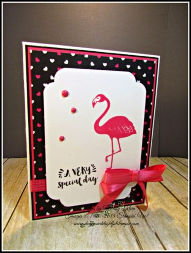 Pals Paper Crafting Card Ideas Pop of Pink Mary Fish Stampin Pretty StampinUp