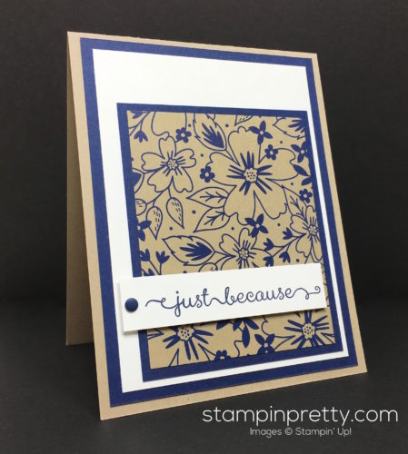 Stampin Up Affectionately Yours Card Idea By Mary Fish StampinUp