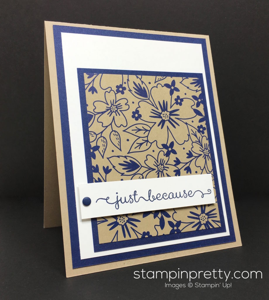 Wow video new affectionately yours stampin 39 pretty for Mary fish stampin up