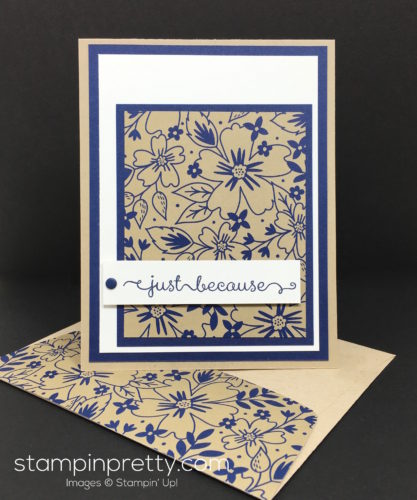Stampin Up Affectionately Yours Card Ideas & Envelope By Mary Fish StampinUp