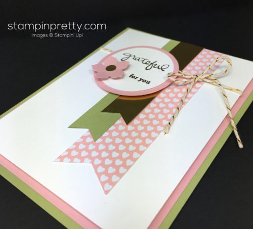 Stampin Up Endless Thanks Thank You Card Ideas By Mary Fish StampinUp