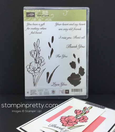 Stampin Up Gift of Love Host Stamp Set Mary Fish