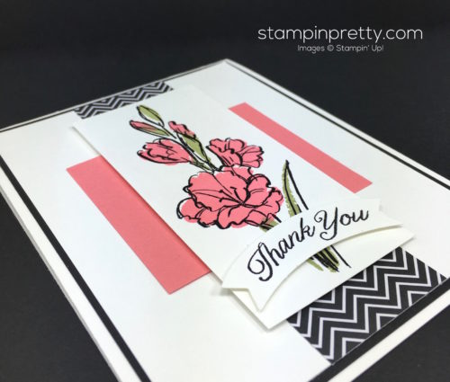 Stampin Up Gift of Love Thank You Card Idea - Mary Fish StampinUp