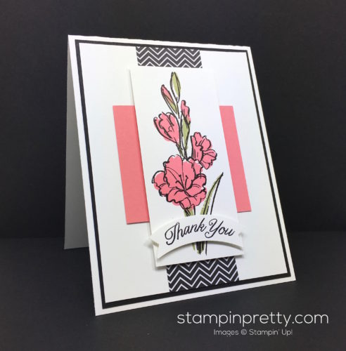 Stampin Up Gift of Love Thank You Card - Mary Fish StampinUp
