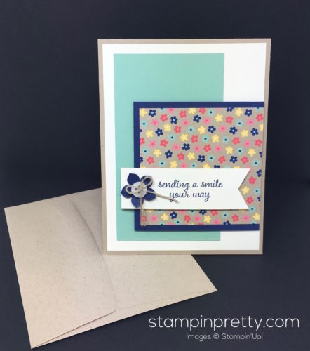 Stampin Up Love & Affection Love Card & Envelope - Mary Fish StampinUp