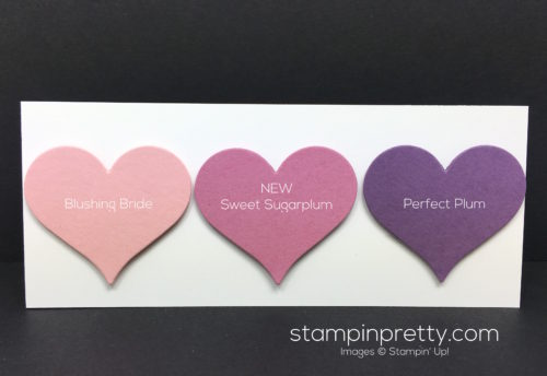 Stampin Up Sweet Sugarplum Comparison