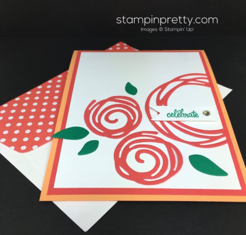 Stampin Up Swirly Scribbles Birthday Card Idea - Mary Fish StampinUp