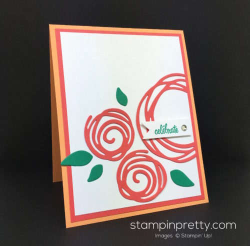 Stampin Up Swirly Scribbles Birthday Card - Mary Fish StampinUp