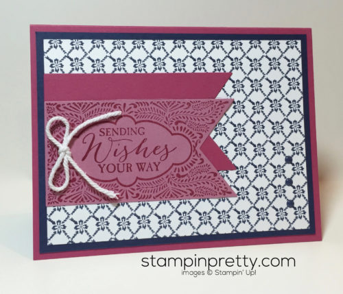 Simple Saturday Banner Birthday Birthday Card Stampin Up!