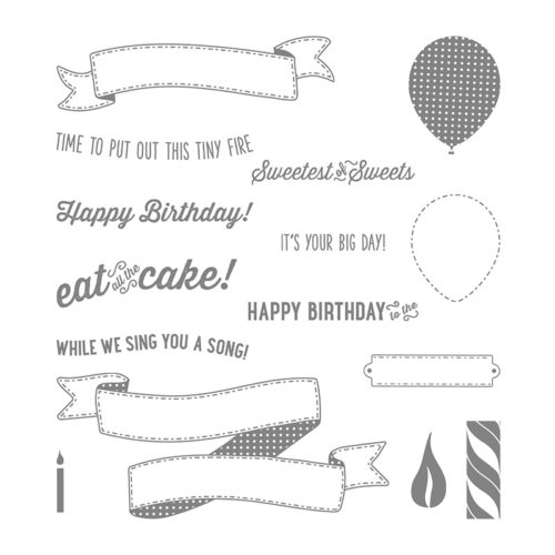 Birthday Banners Stamp Set