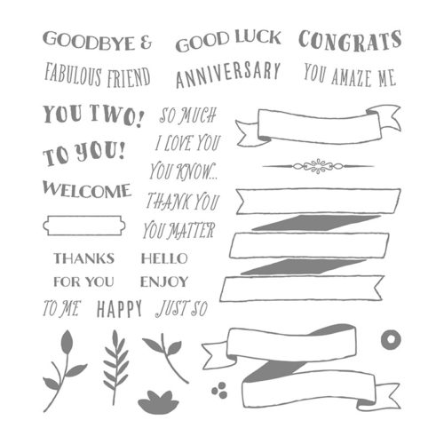 Banners for you Stampin Up
