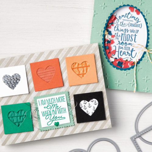 Stampin Up Layering Love