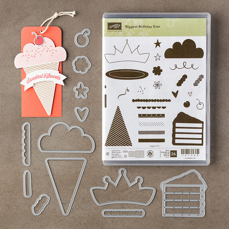 This Birthday Card Is A Piece Of Cake Stampin Pretty