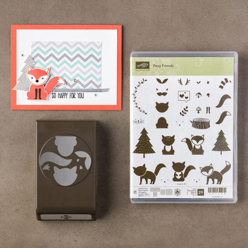 Foxy Friends Fox Builder Punch Stampin Up