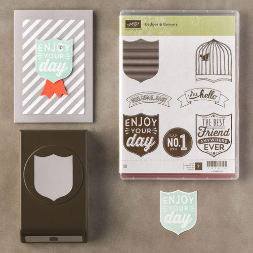 Badges & Banners Bundle StampinUp