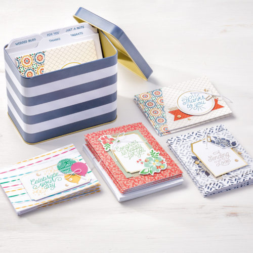 Stampin Up Tin of Cards Kit