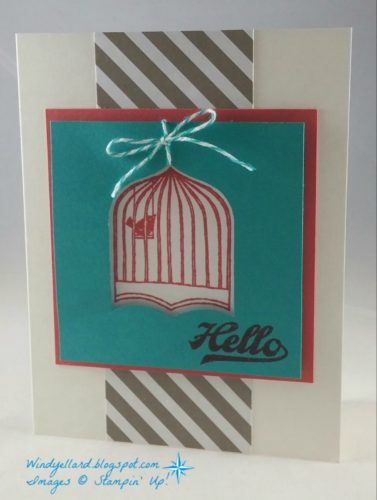 Pals Paper Crafting Card Ideas Badges and Banners Mary Fish Stampin Pretty StampinUp
