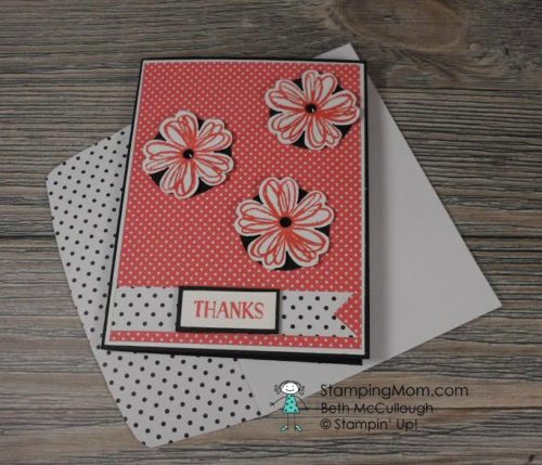 Pals Paper Crafting Card Ideas Beth McCullough Mary Fish Stampin Pretty StampinUp
