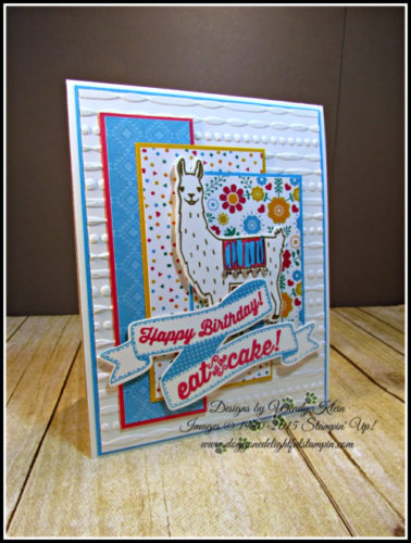 Pals Paper Crafting Card Ideas Birthday Fiesta Mary Fish Stampin Pretty StampinUp