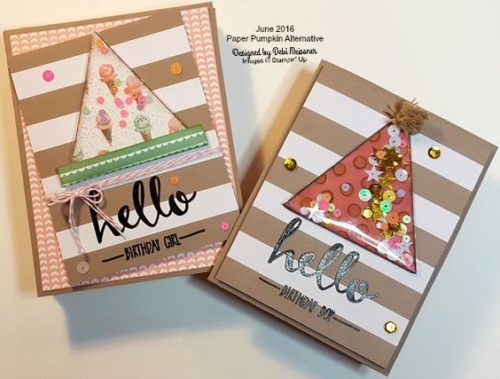 Pals Paper Crafting Card Ideas Deb Meissner Mary Fish Stampin Pretty StampinUp