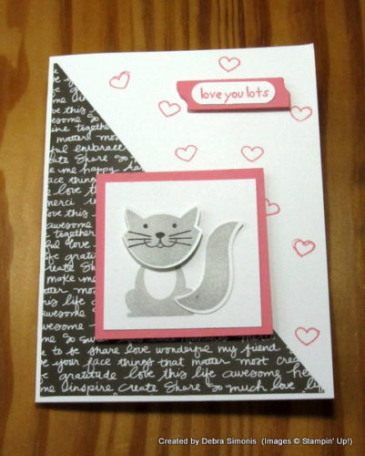 Pals Paper Crafting Card Ideas Foxy Friends Mary Fish Stampin Pretty StampinUp