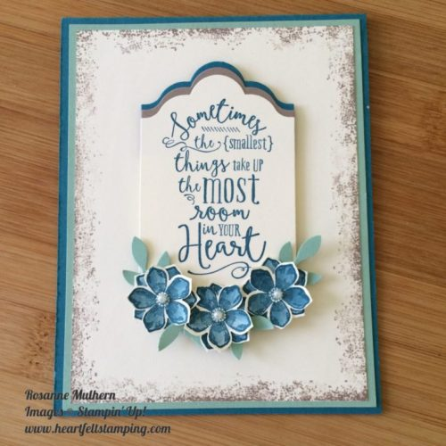 Pals Paper Crafting Card Ideas Layering Love Mary Fish Stampin Pretty StampinUp