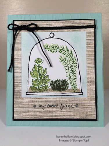 Pals Paper Crafting Card Ideas Live Love Grow Mary Fish Stampin Pretty StampinUp
