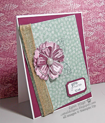 Pals Paper Crafting Card Ideas Lynn Hoyt Mary Fish Stampin Pretty StampinUp