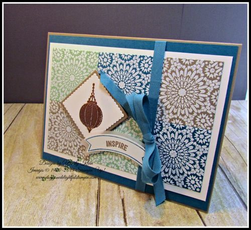 Pals Paper Crafting Card Ideas Moroccan Nights Mary Fish Stampin Pretty StampinUp