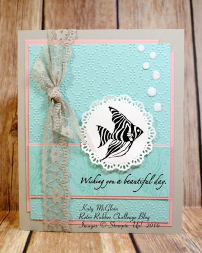 Pals Paper Crafting Card Ideas Ocean Commotion Mary Fish Stampin Pretty StampinUp