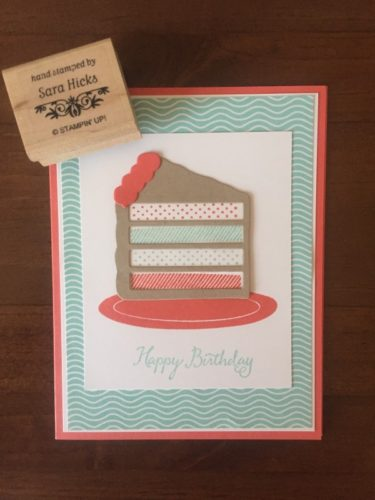 Pals Paper Crafting Card Ideas Sara Hicks Mary Fish Stampin Pretty StampinUp
