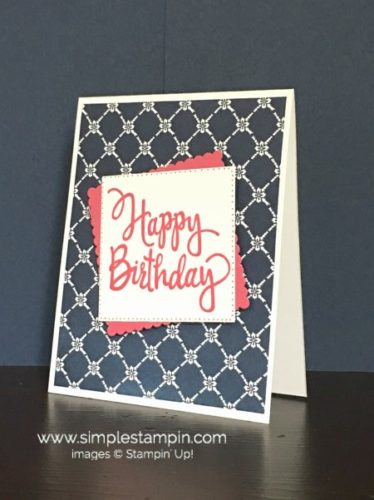 Pals Paper Crafting Card Ideas Stylized Birthday Mary Fish Stampin Pretty StampinUp