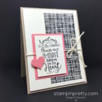 Simple Saturday Layering Love Card