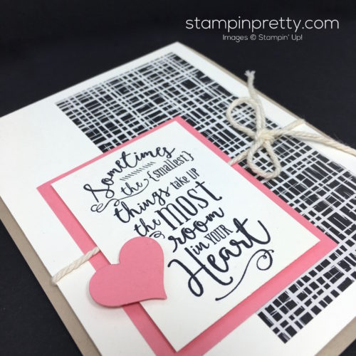 Stampin Up Cards Idea Layering Love - Mary Fish StampinUp