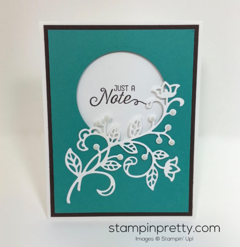 Stampin Up Flourishing Phrases & Flourish Thinlits Dies Cards - Mary Fish StampinUp