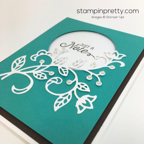 Stampin Up Flourishing Phrases & Flourish Thinlits Dies - Mary Fish StampinUp