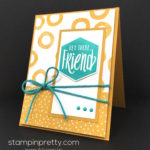 Simple Scenic Sayings Friend Card