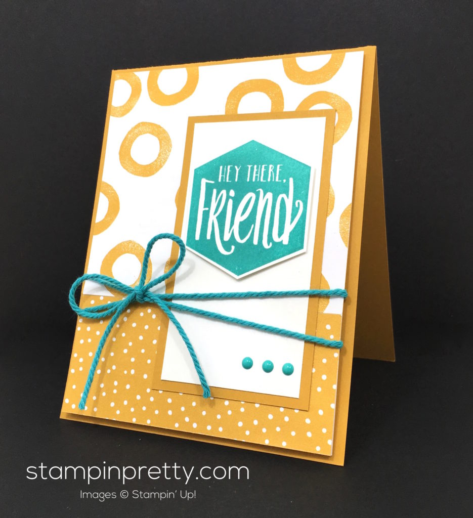 Simple scenic sayings friend card stampin pretty stampin up serene scenery scenic sayings friend card mary fish stampin pretty m4hsunfo
