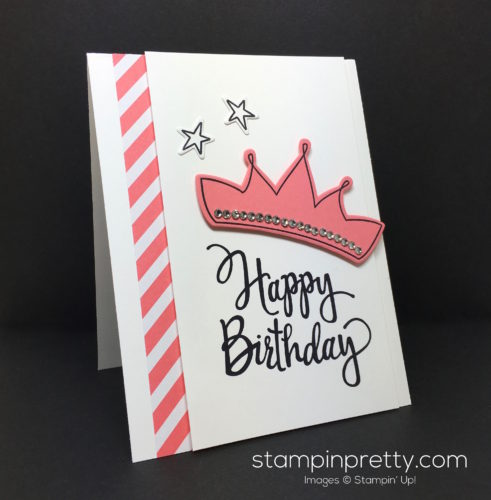 Stampin Up Wish Big Biggest Birthday Ever Card Idea - Mary Fish StampinUp