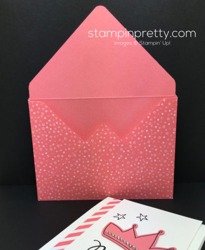 Stampin Up Wish Big Biggest Birthday Ever Envelope - Mary Fish StampinUp