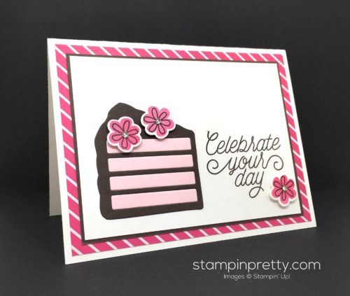 Stampin Up Wish Big Framelits Dies Birthday Card Idea - Mary Fish Stampin Pretty