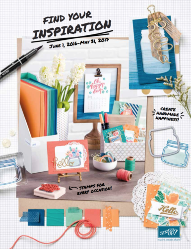 stampin up catalog cover
