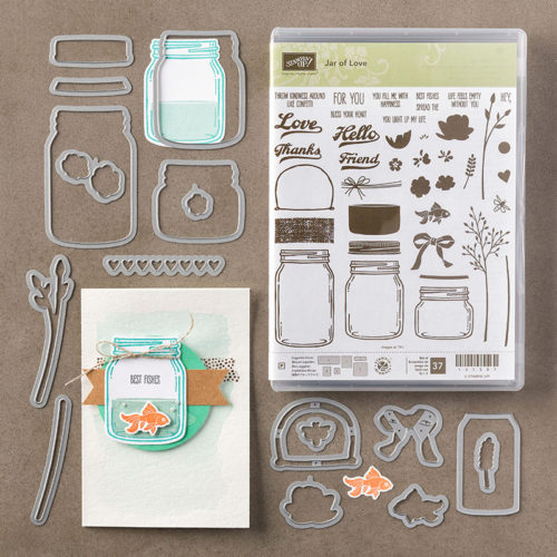 everyday jars of love stampin up