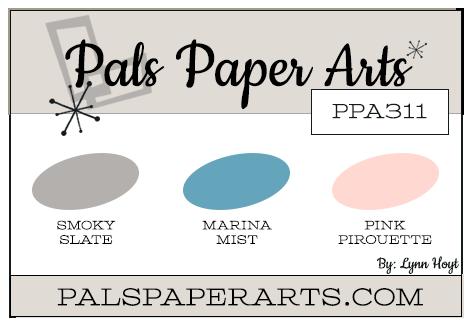 Pals Paper Arts Color Challenge PPA311