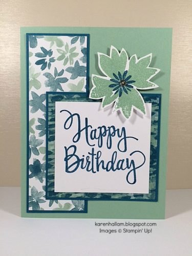 Pals Paper Crafting Card Ideas Karen Hallam Mary Fish Stampin Pretty StampinUp